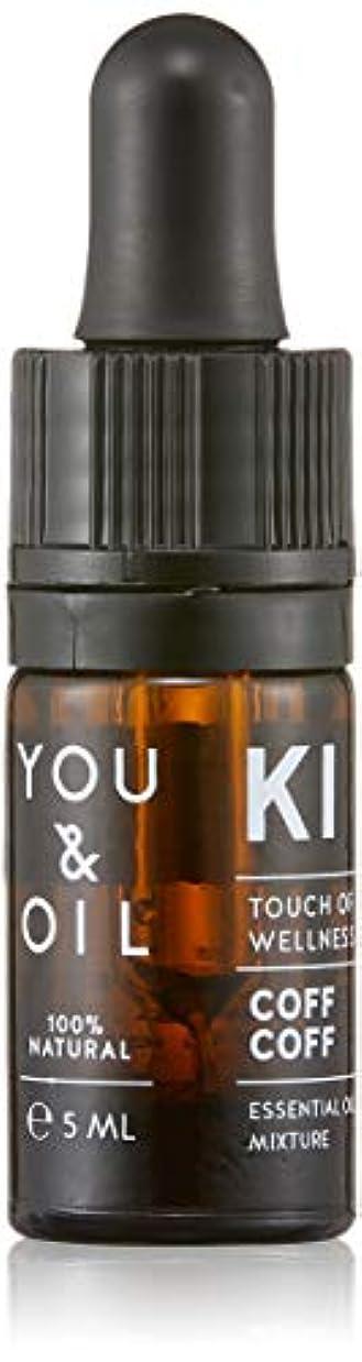 不安定などこでも偶然YOU&OIL(ユーアンドオイル) ボディ用 エッセンシャルオイル COFF COFF 5ml