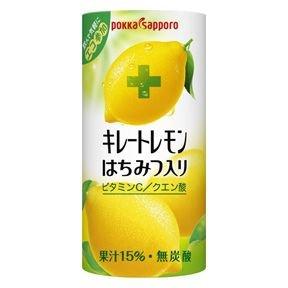 ポッカサッポロ キレートレモン はちみつ入り 195g×30本 (2箱セット)