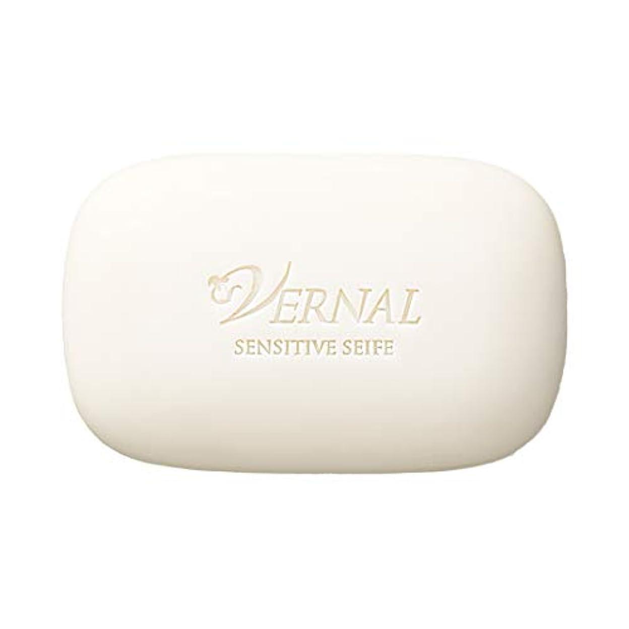 潤滑するすみません広々とした【医薬部外品】センシティブザイフ 110g /ヴァーナル 洗顔石鹸 キメ整える 薬用