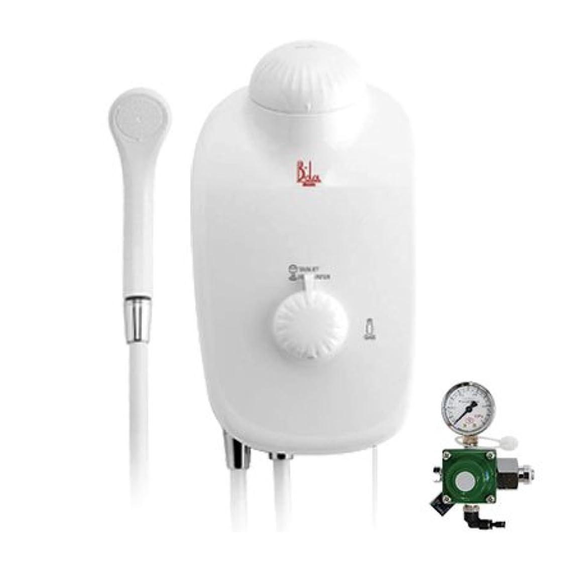 再生不愉快に潤滑する高濃度炭酸泉装置 B-da(ビーダ)本体セット?ガス圧調節器付き