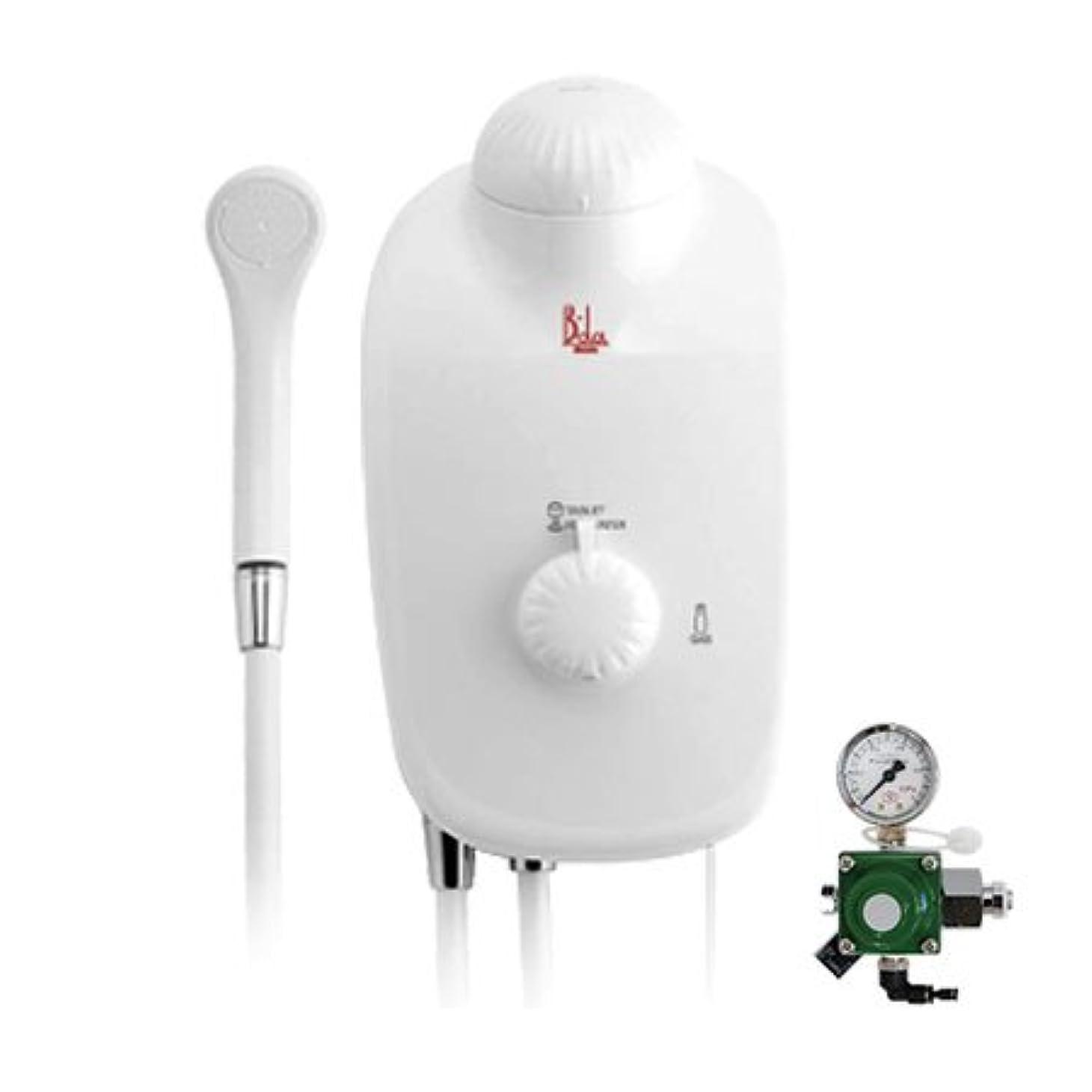 究極のる乱す高濃度炭酸泉装置 B-da(ビーダ)本体セット?ガス圧調節器付き