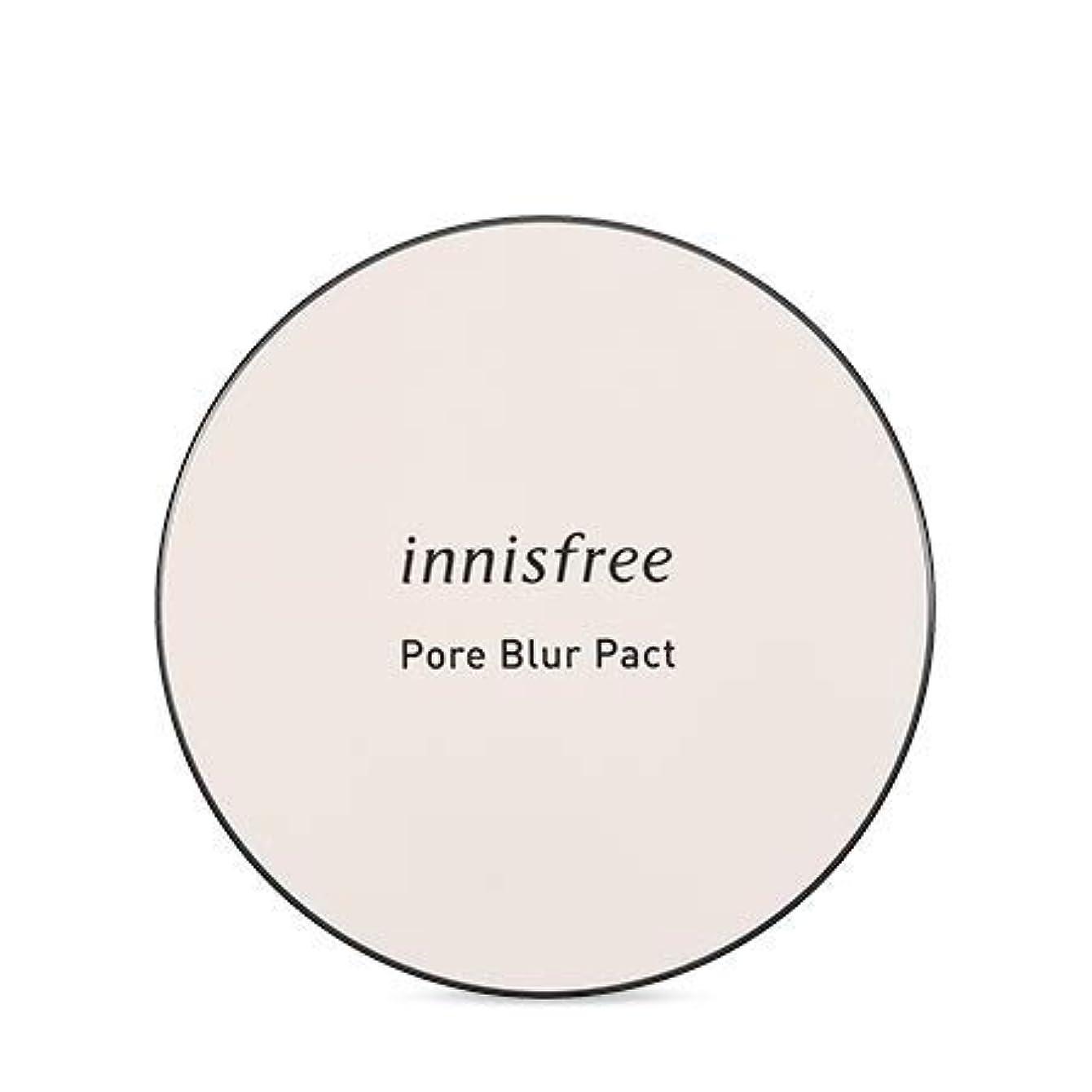 破産癒す誠実[イニスフリー.INNISFREE]フォアブラーファクト12.5g(2019.05新発売)/ Pore Blur Pact