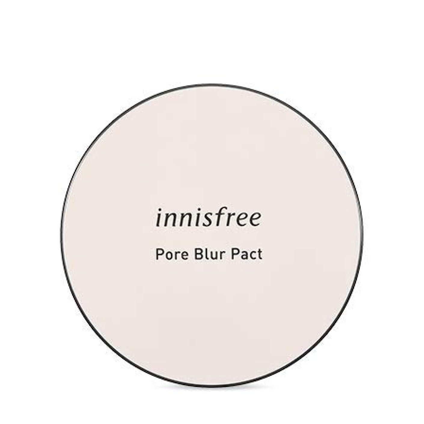 打倒生物学校長[イニスフリー.INNISFREE]フォアブラーファクト12.5g(2019.05新発売)/ Pore Blur Pact