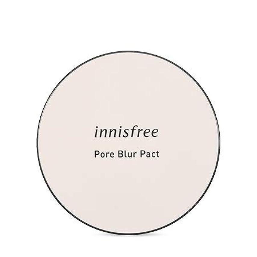 前置詞出発探検[イニスフリー.INNISFREE]フォアブラーファクト12.5g(2019.05新発売)/ Pore Blur Pact