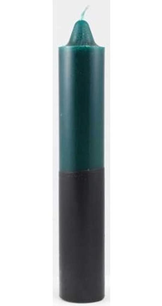 電気陽性電話をかける規定Azure Green CP1GB 9 in. Green- Black pillar