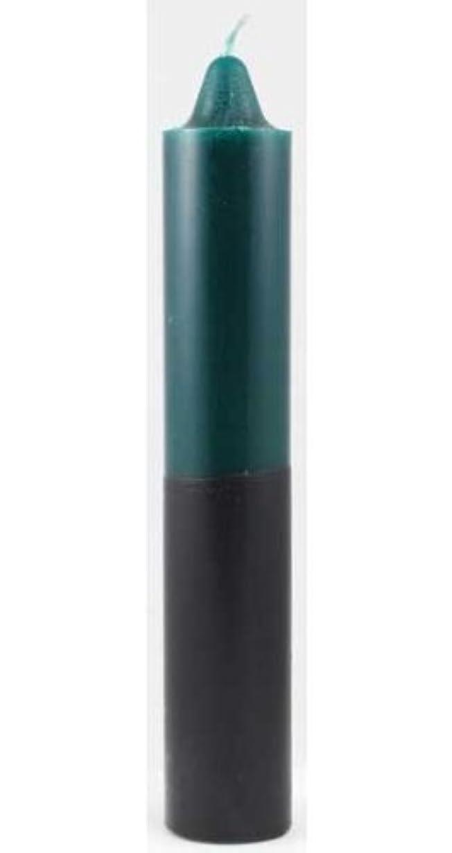 周囲どうしたの船形Azure Green CP1GB 9 in. Green- Black pillar