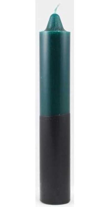 心理学等しいAzure Green CP1GB 9 in. Green- Black pillar