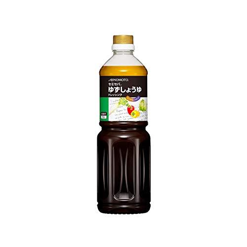 「味の素KKノンオイルドレッシングゆずしょうゆ」 1Lボトル×6