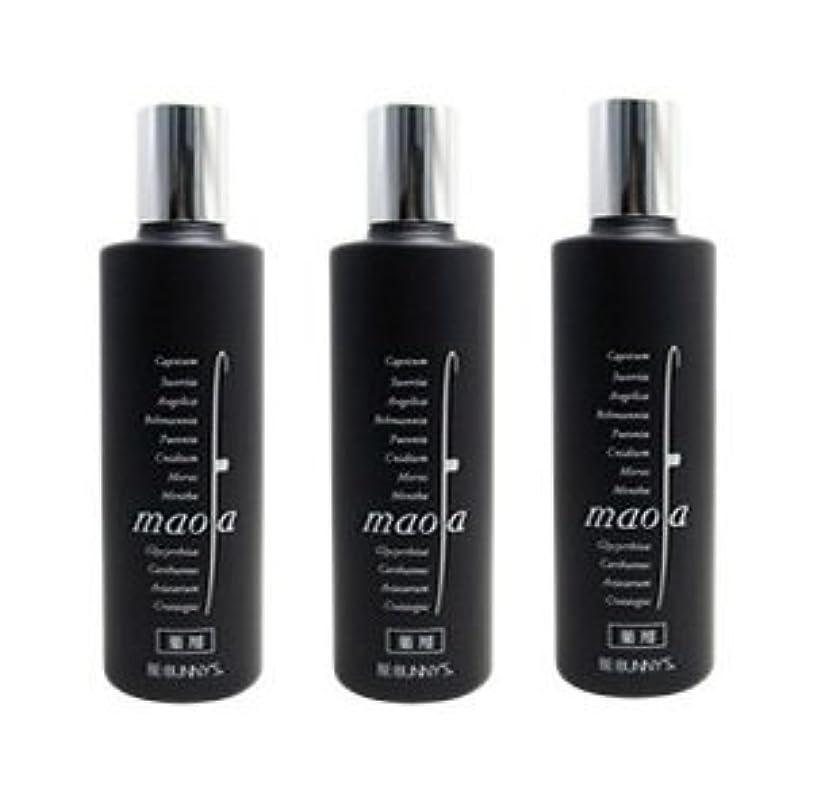 鳴らすメンテナンス香り【X3個セット】 ビバニーズ マオファ 薬用育毛剤 マオファD 150ml 容器入り