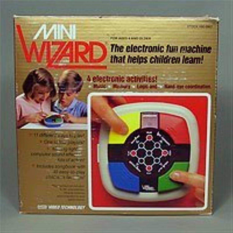 Vintage Mini Wizard Electronic Game (IN ORIGINAL BOX) By VTech [並行輸入品]