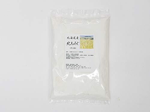 北海道産小麦粉 北もみじ 450g (薄力粉)きたほなみこむぎを使用した製菓 うどん用小麦粉 コシの強さとつるつる食感が特徴のウドンが作れます