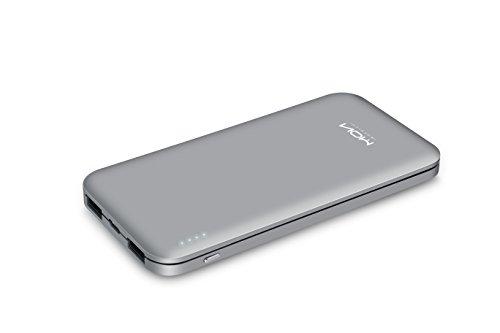 MOXNICE モバイルバッテリー 10000mAh 2US...