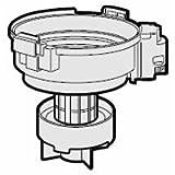 サイクロンクリーナー用 カップカバー(筒型フィルター付) 2172210437 対応機種:EC-VX2-D EC-VX2-P EC-VX2-V