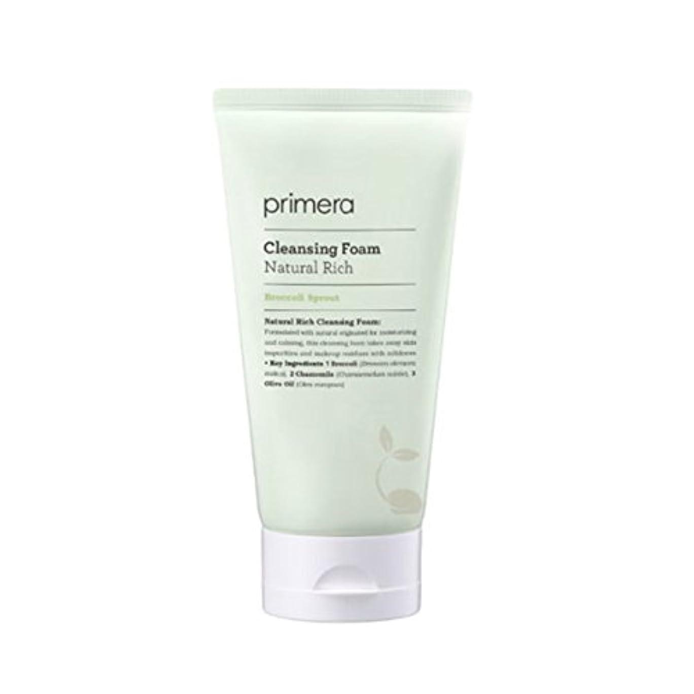 (プリメーラ) PRIMERA Natural Rich Cleansing Foam ナチュラルリッチ クレンジングフォーム (韓国直発送) oopspanda