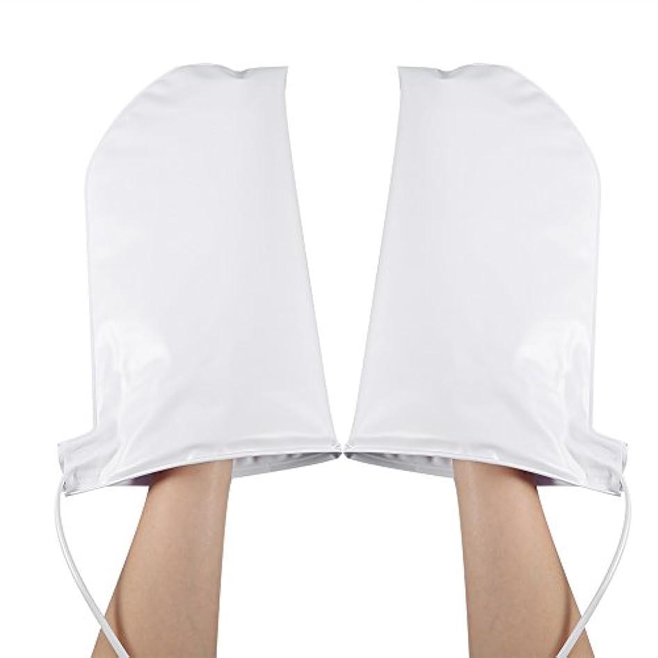 注意取り消す被る手袋 ヒートグローブ 加熱式 電熱 手ケア ハンドケア 2つ加熱モード 乾燥対策 手荒れ対策 補水 保湿 美白 しっとり