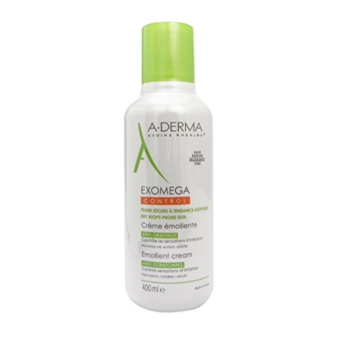 ジェット新年交通A-derma Exomega Control Emollient Cream 400ml [並行輸入品]