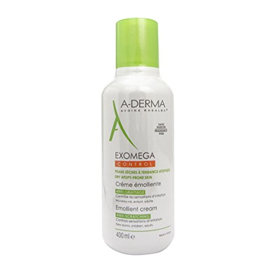 熱望するタヒチボードA-derma Exomega Control Emollient Cream 400ml [並行輸入品]
