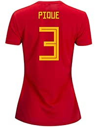 d2c196248 2018-19 Germany Home Womens Football Soccer T-Shirt UKSoccershop Shkodran  Mustafi 2