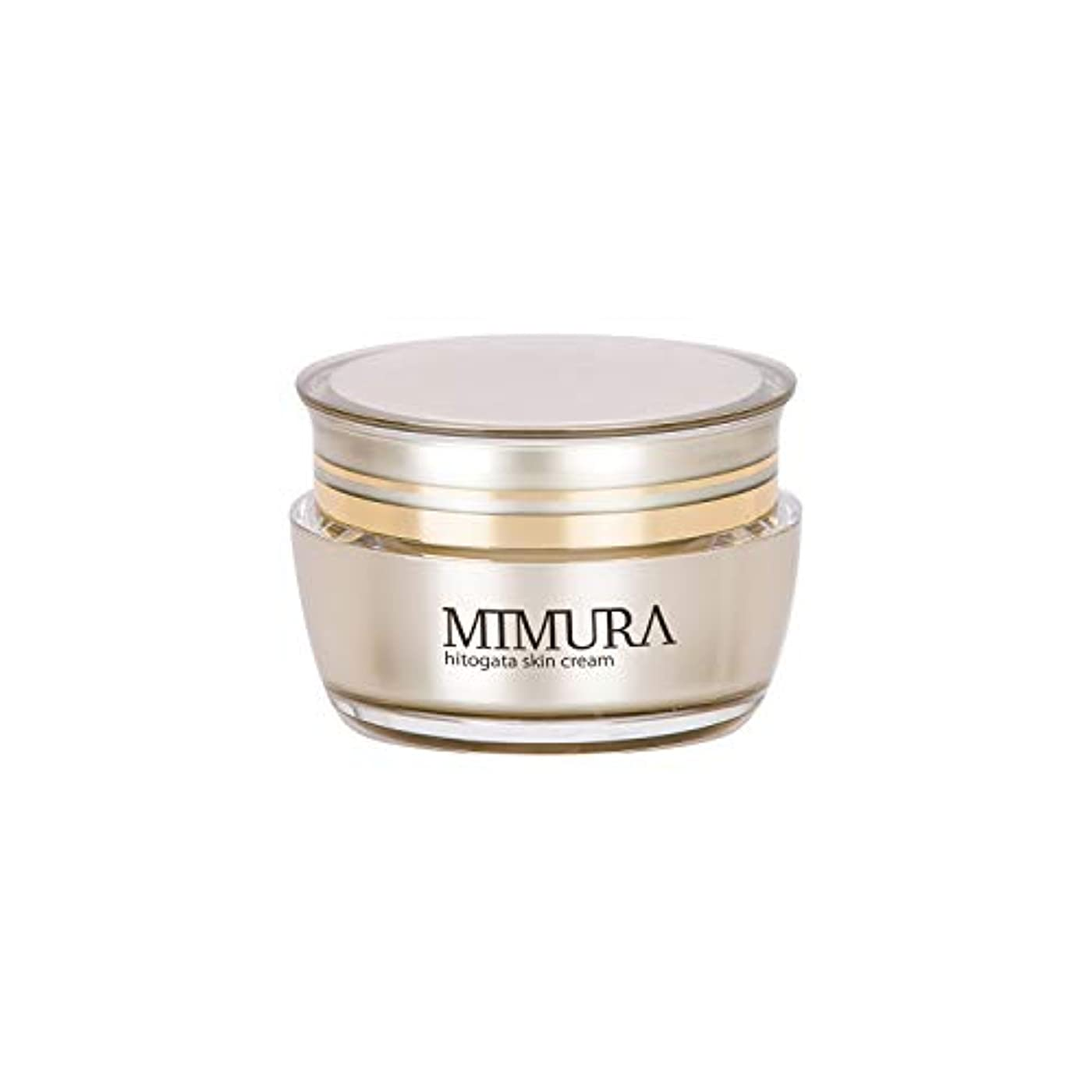 バナー舌なバウンドヒト幹細胞 保湿クリーム ブースター ミムラ hitogata スキン クリーム 30g MIMURA 日本製