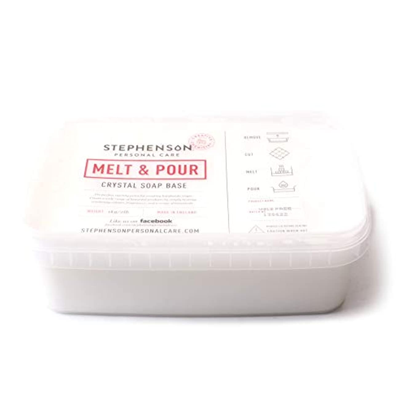 意図的セメント爬虫類Melt and Pour Soap Base White SLS FREE - 10Kg