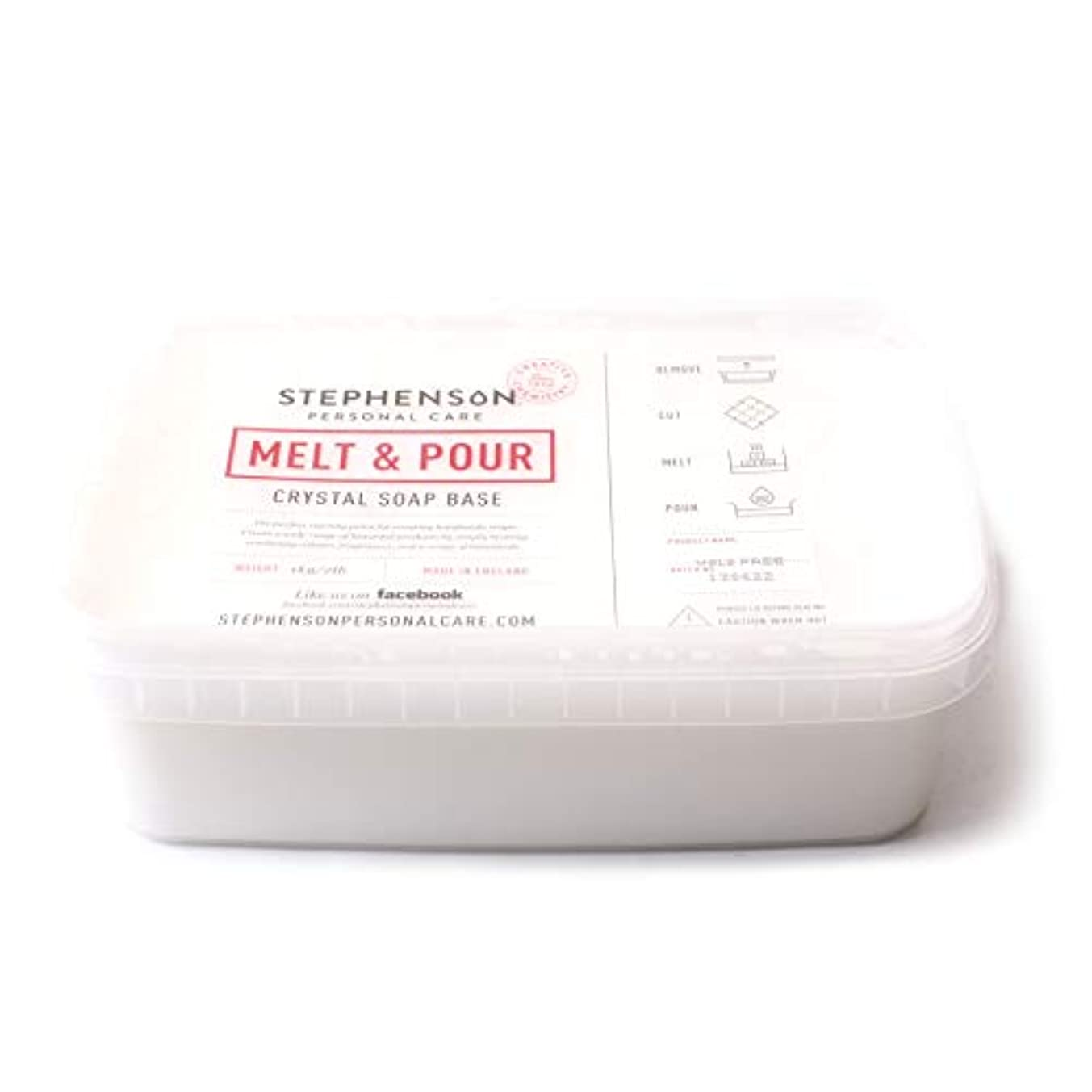 人口レギュラー家具Melt and Pour Soap Base White SLS FREE - 10Kg