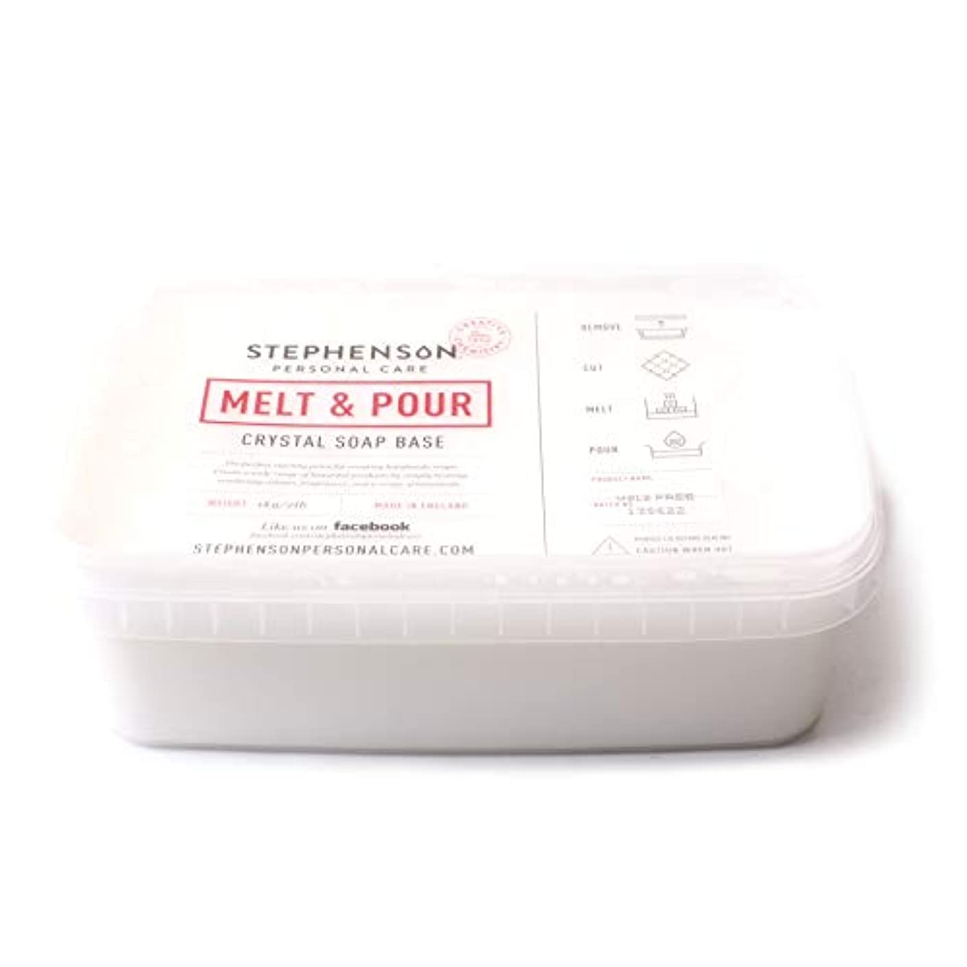 抵当爆発物圧倒するMelt and Pour Soap Base White SLS FREE - 10Kg