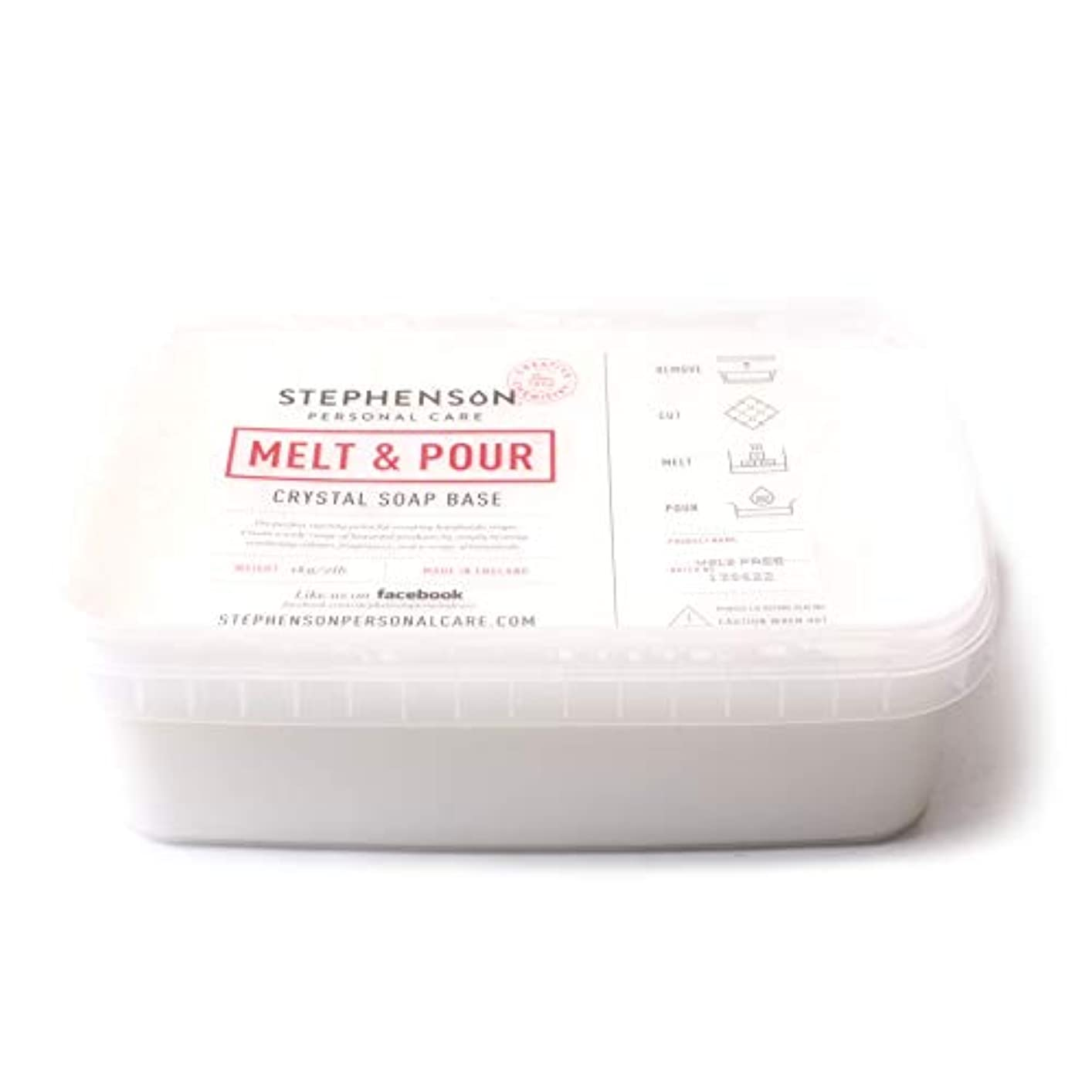 尽きる持ってるキャビンMelt and Pour Soap Base White SLS FREE - 10Kg