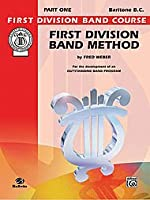 Alfred Publishing 00-FDL00016A First Division Band Method Part 1 - Music Book