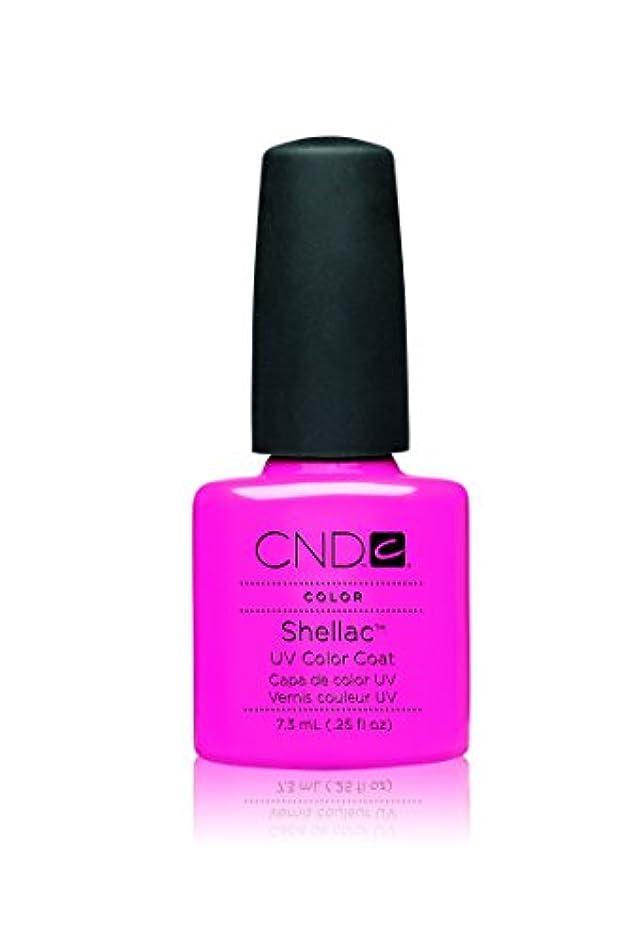 はい見込み潤滑するCND(シーエヌディー) シェラック UVカラーコート 519 Hot Pop Pink(マット) 7.3ml