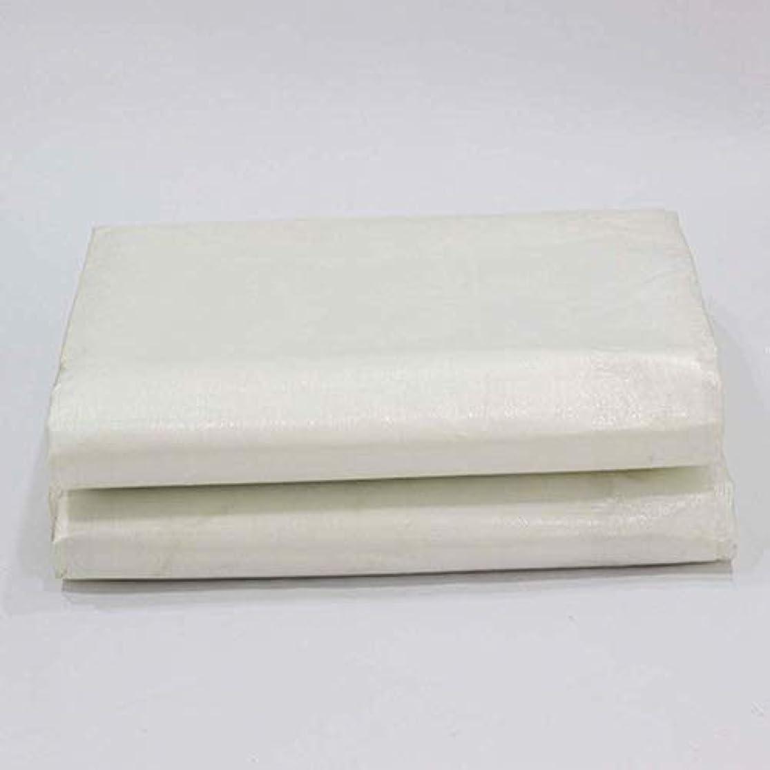 最後のスクラップブックどうやって36-dianyejiancai 屋外のテント厚い白い防雨の日焼け止めの防水シートのトラックの防水シート屋外の日除けのプラスチック布 (Color : 白, サイズ : 6X12M)