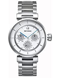 イッセイミヤケ Issey Miyake W-Mini White Face Stainless Steel Band Watch SILAAB01 男性 メンズ 腕時計 【並行輸入品】