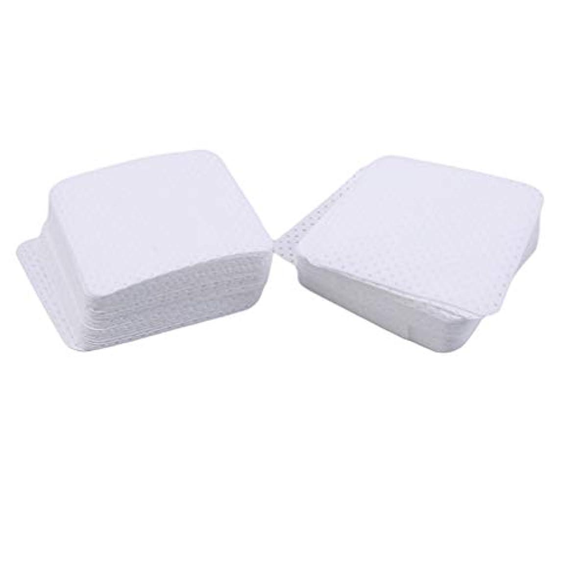 記憶塗抹適応するNoonlity ネイルワイプ ジェルワイプ コットン ネイルオフ 不織布 ネイル用 未硬化ジェルの拭き取り 100枚入り