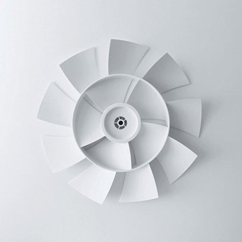 バルミューダ DCモーター 省エネ 扇風機 GreenFan Japan(グリーンファンジャパン)ホワイト×グレー EGF-1500-WG 日本製