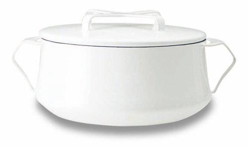 DANSK ホーロー鍋シリーズ コベンスタイルII 両手鍋 18cm 白