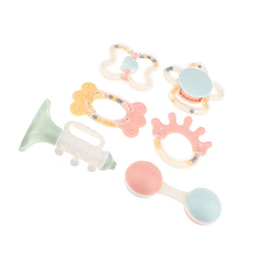 侵入ランデブー名誉あるDYNWAVE 新生児や赤ちゃんのためのマルチ感覚ラトルティーザーBPAフリー開発セット - #1