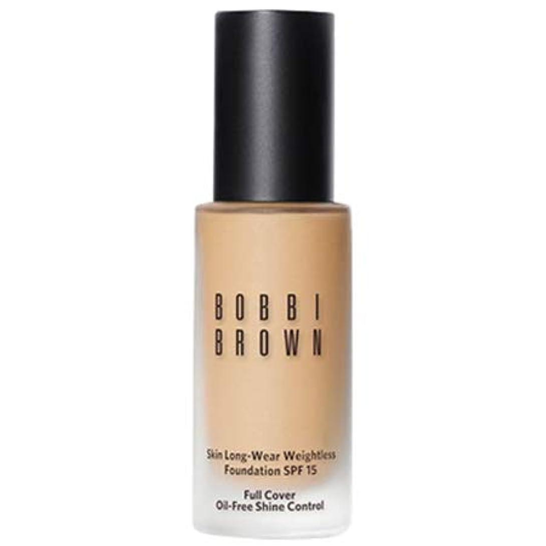 褐色氷投げ捨てるボビイブラウン スキン ロングウェア ウェイトレス ファンデーション 9色展開 -BOBBI BROWN- ウォームサンド