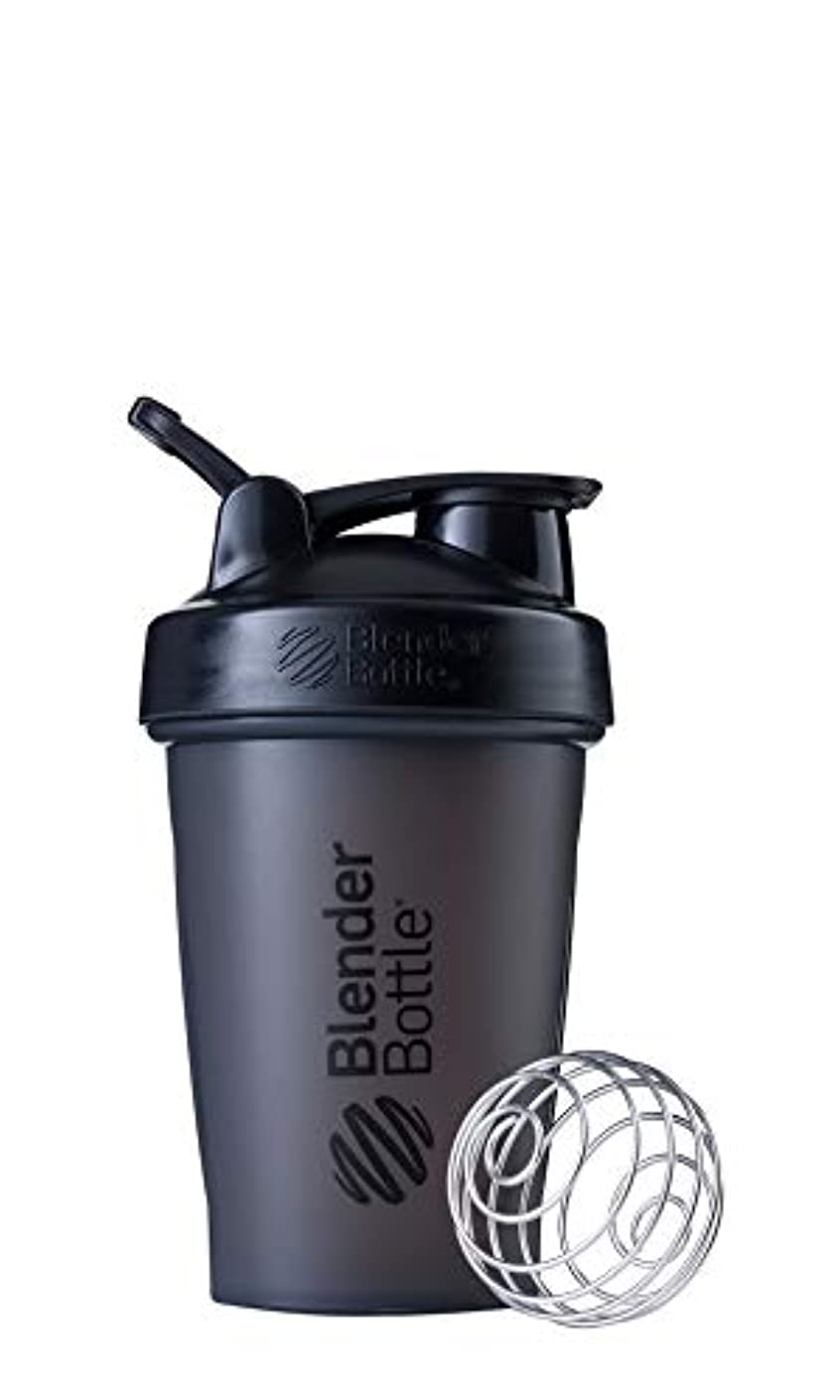 ドリルどれ机ブレンダーボトル 【日本正規品】 ミキサー シェーカー ボトル Classic 20オンス (600ml) ブラック BBCLE20 FCBK