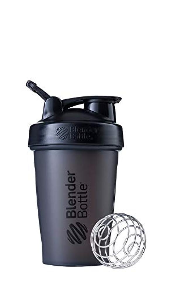 キャンプ助手山積みのブレンダーボトル 【日本正規品】 ミキサー シェーカー ボトル Classic 20オンス (600ml) ブラック BBCLE20 FCBK
