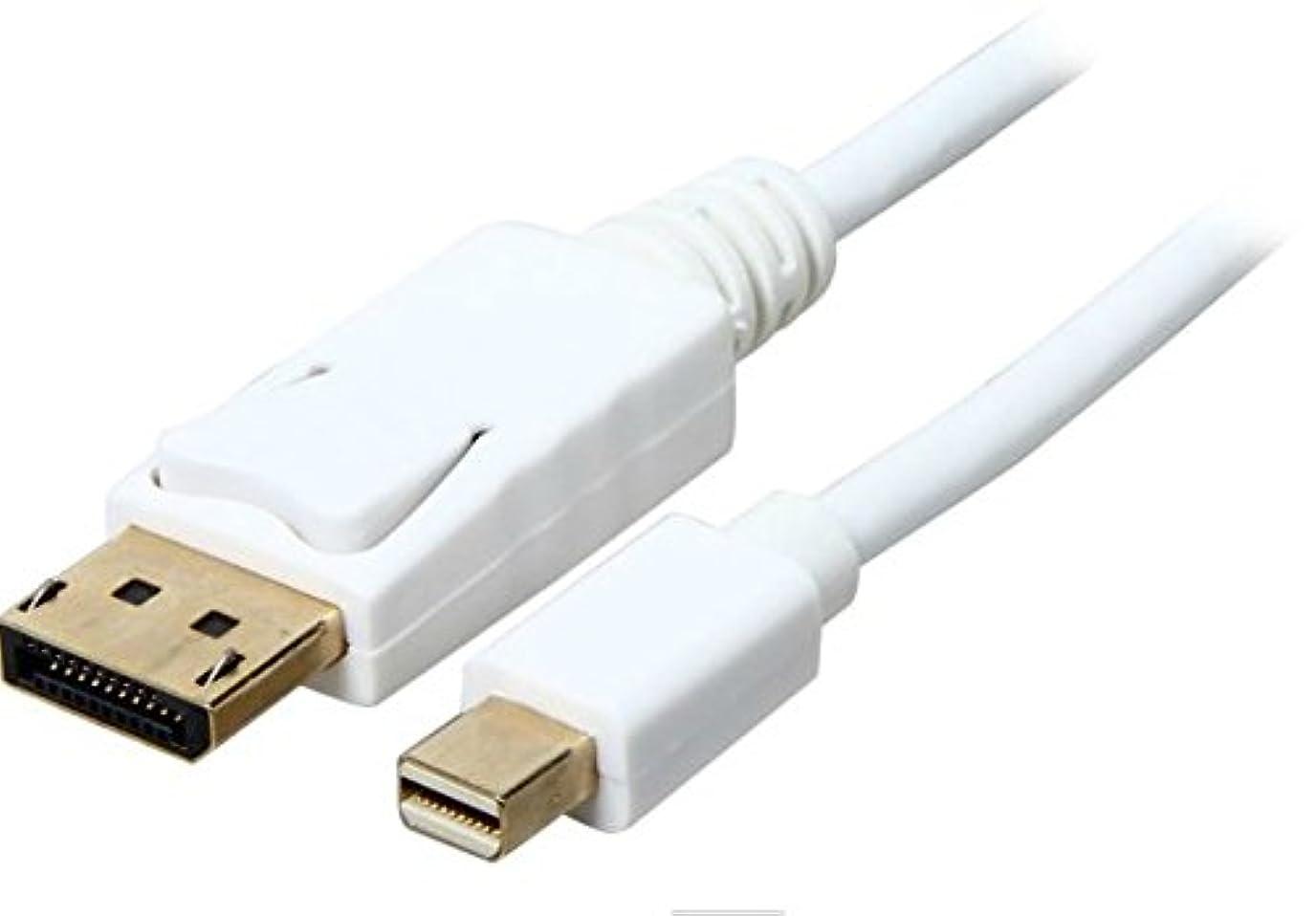 起点腐敗した最初にAya 10 ft ( 10フィート) Mini DisplayPort to DisplayPort 32 AWG withオーディオ出力