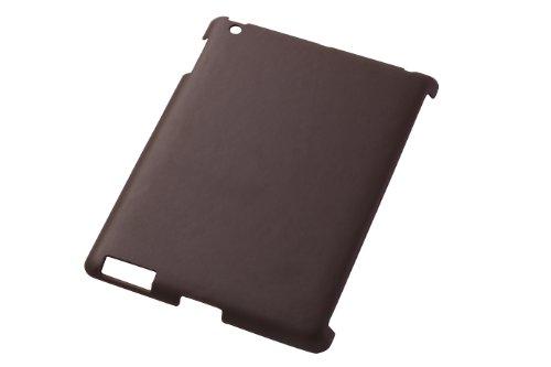 iPad (2012年春発表モデル)/iPad 2用オープンタイプレザージャケット/ダークブラウン RT-PA3LC2/K
