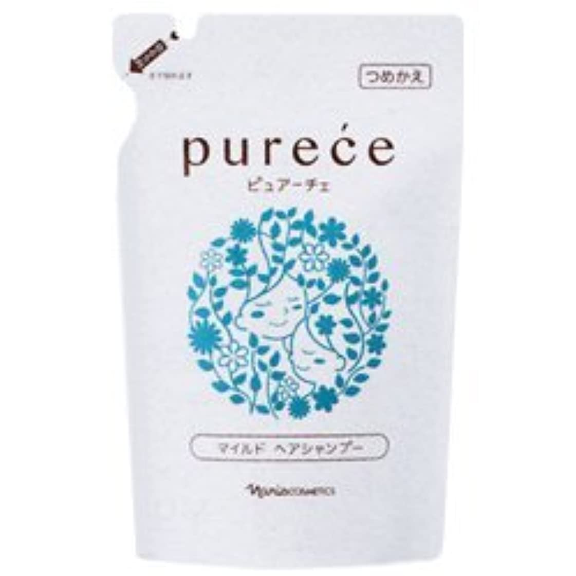 織るローマ人競争ナリス化粧品 ピュアーチェ(PURECE) マイルドヘアシャンプーLS カエ 450ml [レフィル]