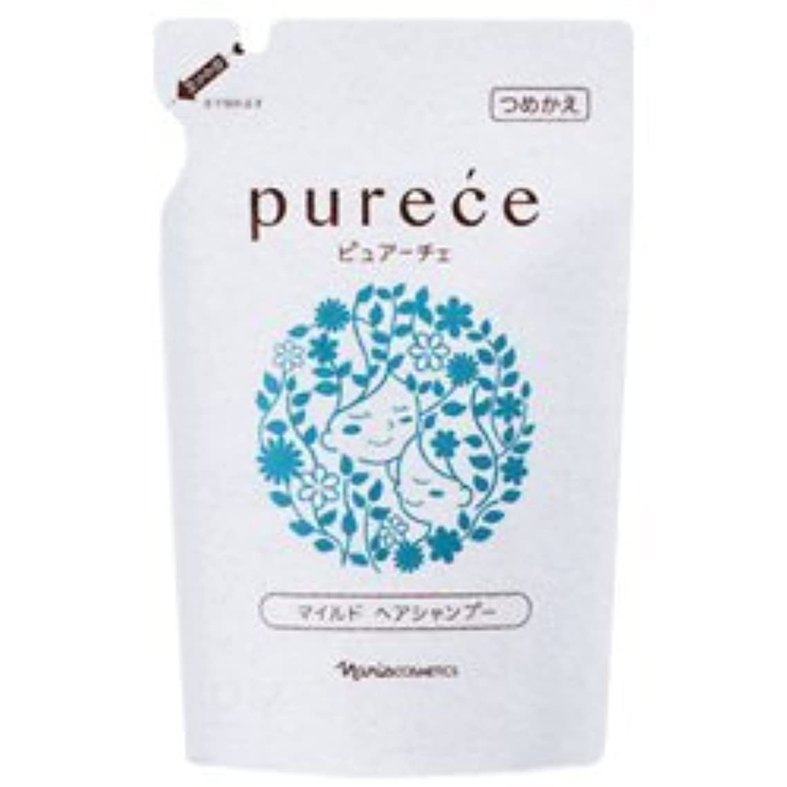 一掃する合理化バルーンナリス化粧品 ピュアーチェ(PURECE) マイルドヘアシャンプーLS カエ 450ml [レフィル]