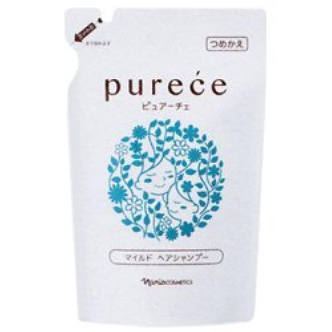 欠伸寛大さしないでくださいナリス化粧品 ピュアーチェ(PURECE) マイルドヘアシャンプーLS カエ 450ml [レフィル]