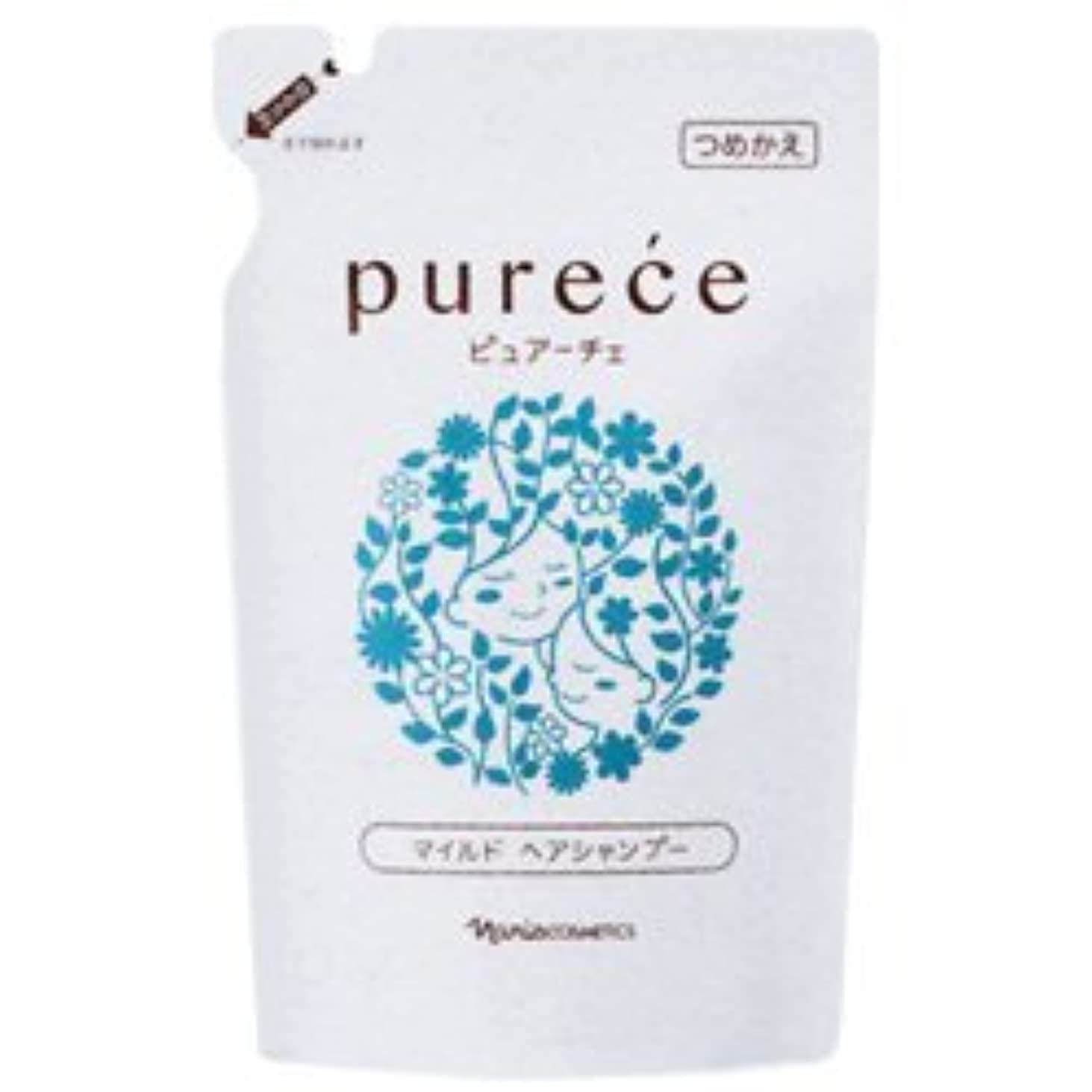 樫の木万一に備えてビジターナリス化粧品 ピュアーチェ(PURECE) マイルドヘアシャンプーLS カエ 450ml [レフィル]