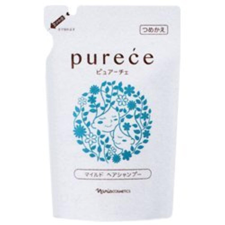 噴水深さ失効ナリス化粧品 ピュアーチェ(PURECE) マイルドヘアシャンプーLS カエ 450ml [レフィル]