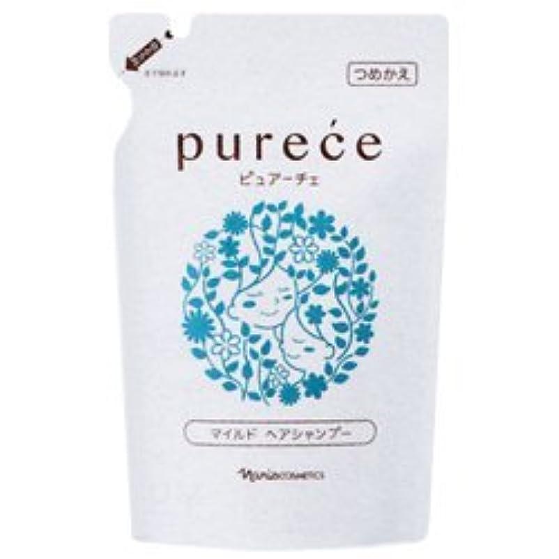 冗長並外れた膨張するナリス化粧品 ピュアーチェ(PURECE) マイルドヘアシャンプーLS カエ 450ml [レフィル]