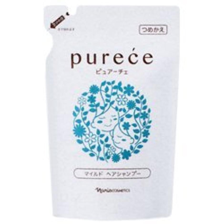 中止しますハンカチインカ帝国ナリス化粧品 ピュアーチェ(PURECE) マイルドヘアシャンプーLS カエ 450ml [レフィル]