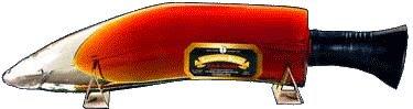 ネパール コロネーション ククリ ラム  短剣型ボトル 375ml (Khukri Rum)NEPAL