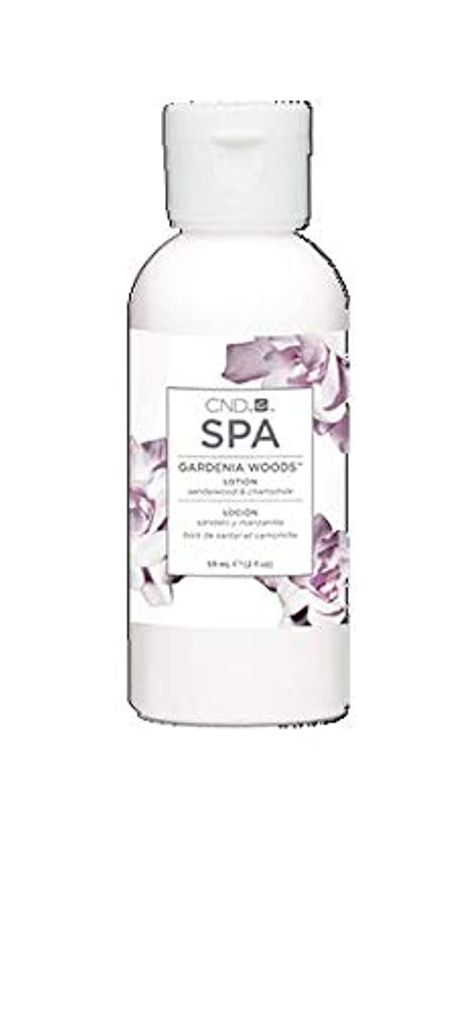長さ辞任耐えられないCND Spa - Gardenia Woods Lotion - 2oz / 59ml