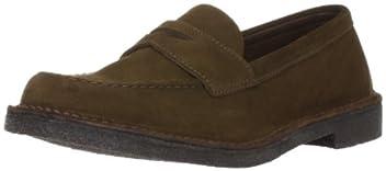Suede Loafer 1331-699-5383: Dark Brown